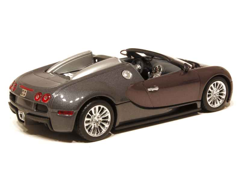 bugatti veyron grand sport 2009 minichamps 1 43 autos miniatures tacot. Black Bedroom Furniture Sets. Home Design Ideas