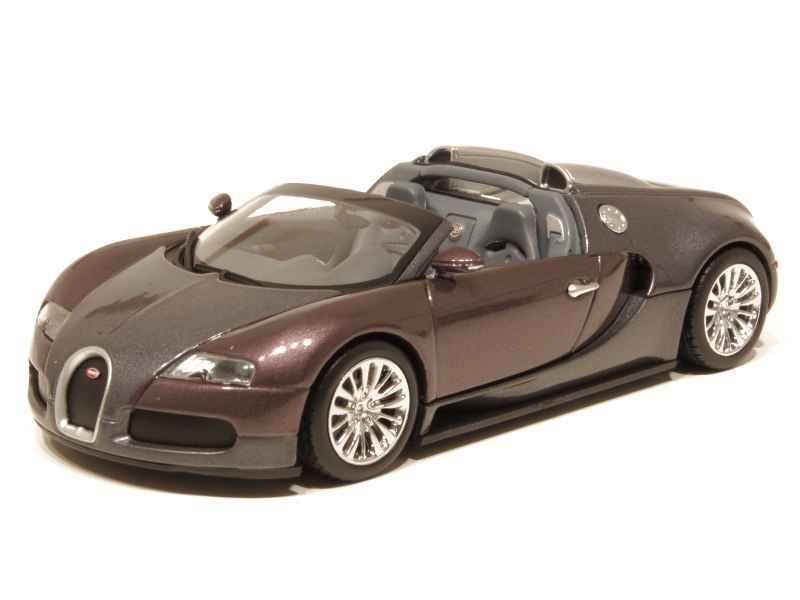 bugatti veyron grand sport 2009 minichamps 1 43 autos miniatures tacot. Black Bedroom Furniture Sets. Home Design Ideas
