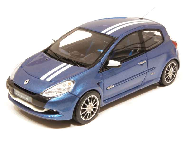 renault clio iii gordini rs 2010 spark model 1 43 autos miniatures tacot. Black Bedroom Furniture Sets. Home Design Ideas