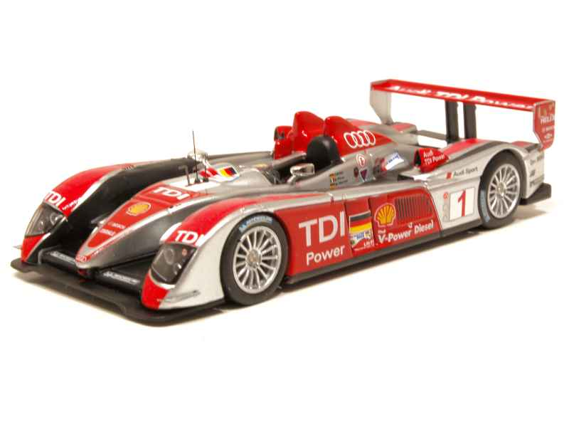 audi r10 tdi le mans 2008 ixo 1 43 autos miniatures tacot. Black Bedroom Furniture Sets. Home Design Ideas