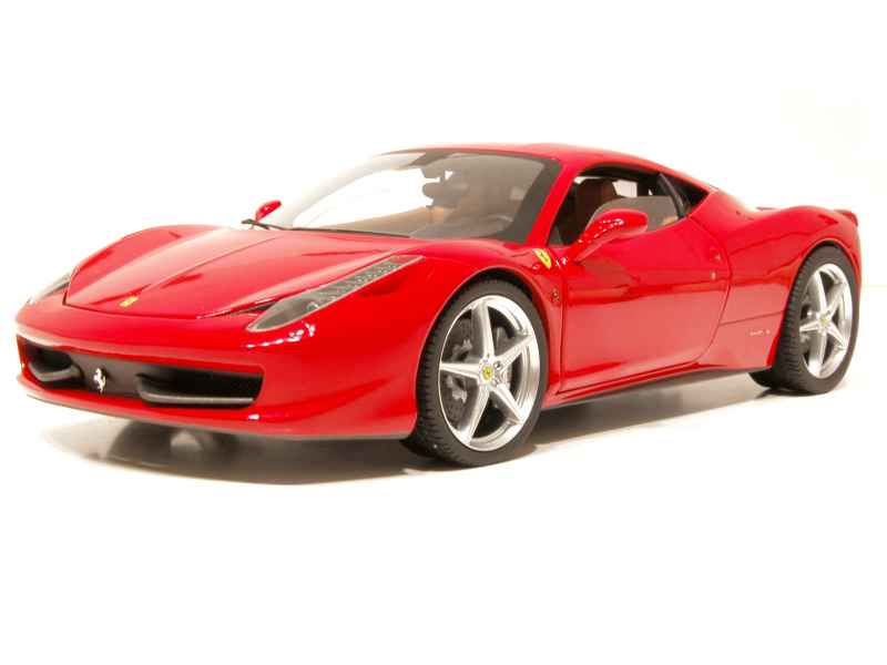 ferrari 458 italia 2009 elite 1 18 autos miniatures tacot. Black Bedroom Furniture Sets. Home Design Ideas
