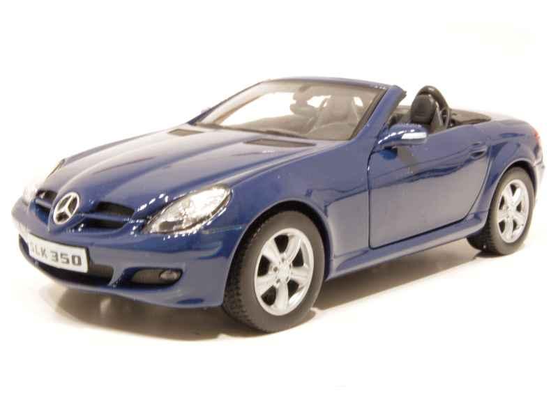 mercedes slk 350 r171 2004 welly 1 24 autos miniatures tacot. Black Bedroom Furniture Sets. Home Design Ideas