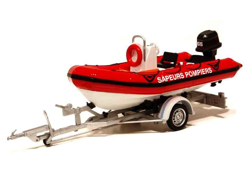 divers bateau pneumatique pompiers eligor 1 43. Black Bedroom Furniture Sets. Home Design Ideas