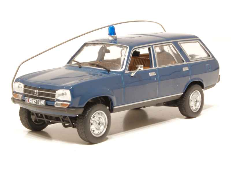 peugeot 504 break dangel 4x4 gendarmerie 1979 norev 1 43 autos miniatures tacot. Black Bedroom Furniture Sets. Home Design Ideas