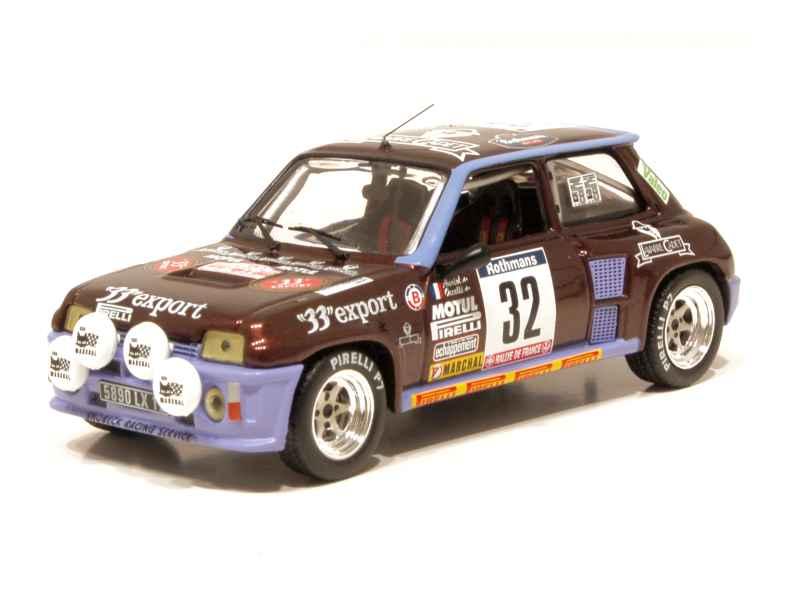 renault r5 turbo tour de corse 1984 ixo 1 43 autos miniatures tacot. Black Bedroom Furniture Sets. Home Design Ideas