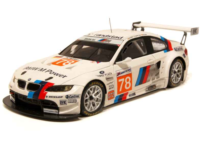 bmw m3 gt2 e92 le mans 2010 spark model 1 43 autos miniatures tacot. Black Bedroom Furniture Sets. Home Design Ideas