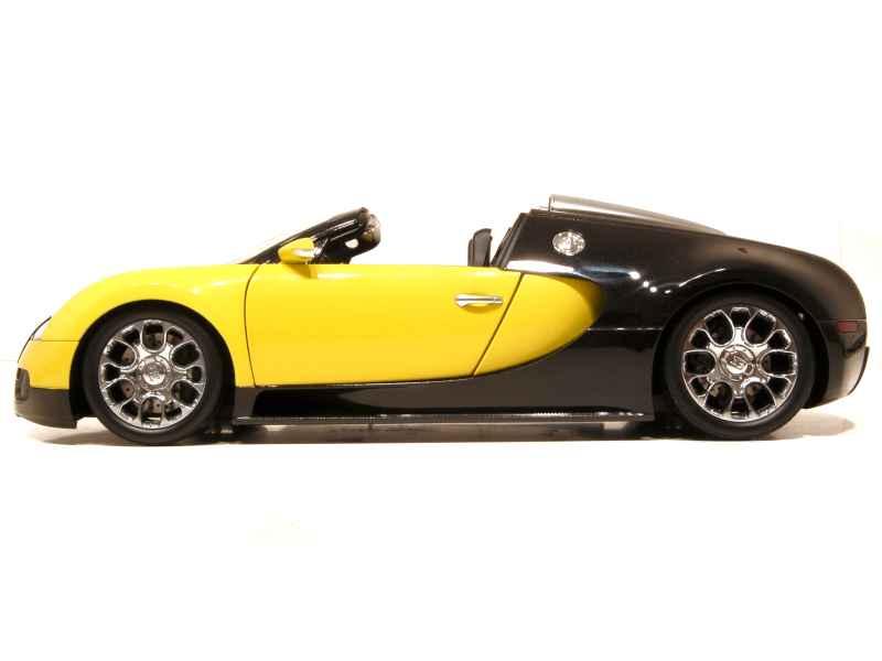 bugatti veyron grand sport 2009 minichamps 1 18 autos miniatures tacot. Black Bedroom Furniture Sets. Home Design Ideas