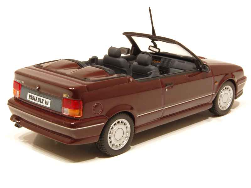 renault r19 16s cabriolet 1990 norev 1 43 autos miniatures tacot. Black Bedroom Furniture Sets. Home Design Ideas