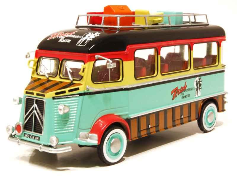 citro n hy autocar orchestre 1959 mod le presse h 1 43 autos miniatures tacot. Black Bedroom Furniture Sets. Home Design Ideas
