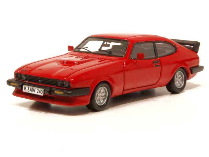 1981 Ford Capri III Turbo red