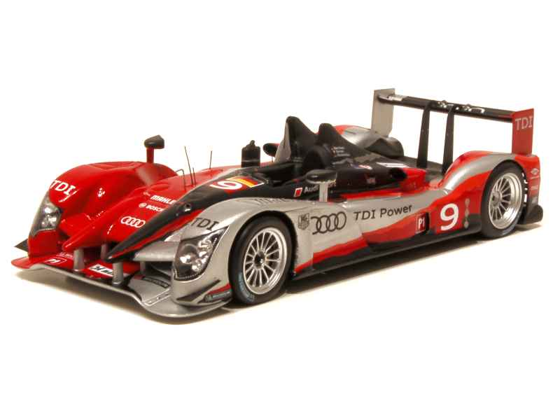 audi r15 plus tdi le mans 2010 spark model 1 43 autos miniatures tacot. Black Bedroom Furniture Sets. Home Design Ideas