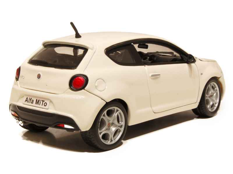 alfa romeo mito 2008 burago 1 24 autos miniatures tacot. Black Bedroom Furniture Sets. Home Design Ideas