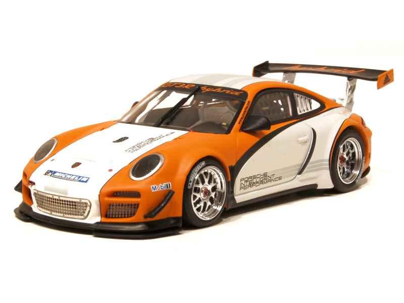 barato Minichamps - Porsche Porsche Porsche 911 997 GT3 R Hybrid 2010 - 1 43  tiempo libre