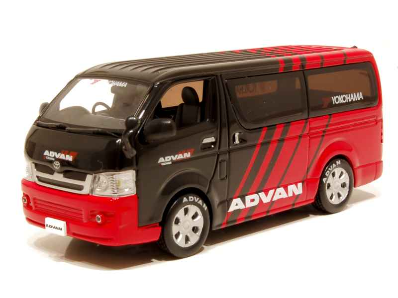toyota hiace van 2005 j collection 1 43 autos miniatures tacot. Black Bedroom Furniture Sets. Home Design Ideas
