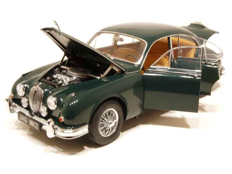 jaguar mkii 3 8l 1962 model icons 1 18 autos miniatures tacot. Black Bedroom Furniture Sets. Home Design Ideas