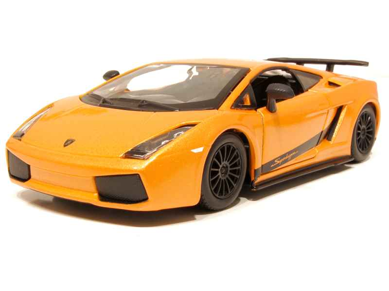 lamborghini gallardo superleggera 2007 burago 1 24 autos miniatures tacot. Black Bedroom Furniture Sets. Home Design Ideas