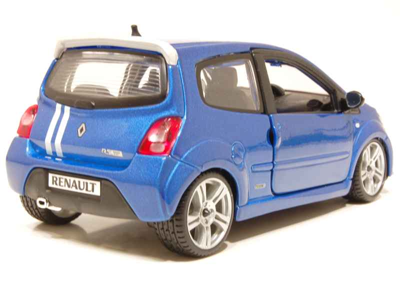 renault twingo ii gordini rs 2010 burago 1 24 autos miniatures tacot. Black Bedroom Furniture Sets. Home Design Ideas