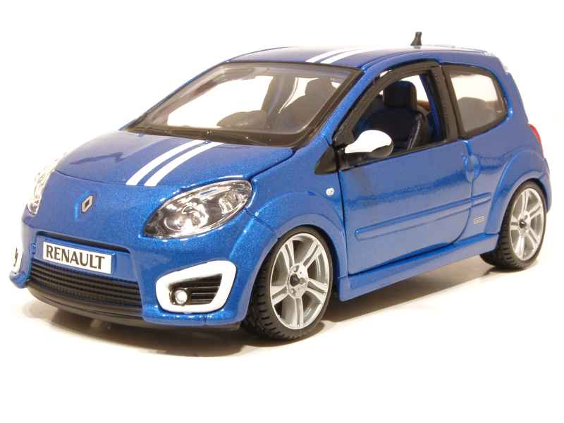 renault twingo ii gordini rs 2010 burago 1 24 autos miniatures tacot. Black Bedroom Furniture Sets. Home Design Ideas