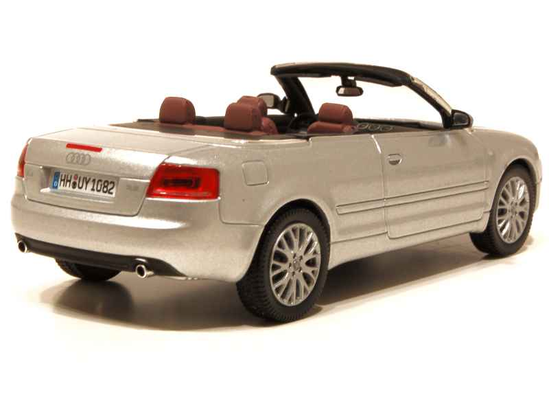 audi a4 cabriolet 2006 norev 1 43 autos miniatures. Black Bedroom Furniture Sets. Home Design Ideas