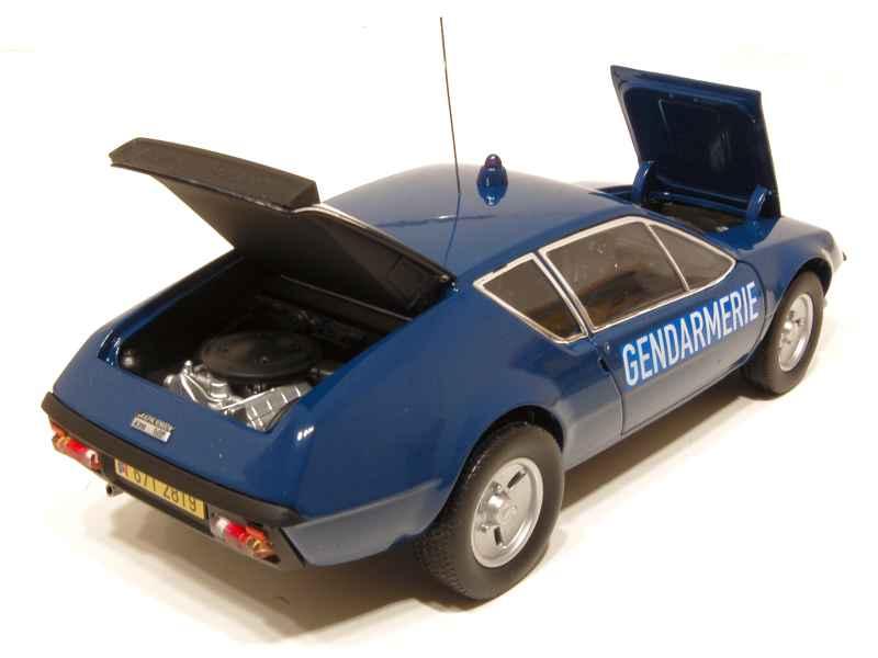 alpine a310 v6 gendarmerie 1978 norev 1 18 autos miniatures tacot. Black Bedroom Furniture Sets. Home Design Ideas