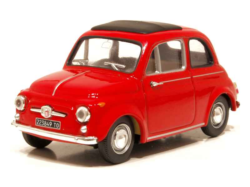 fiat 500 d 1960 vitesse 1 43 autos miniatures tacot. Black Bedroom Furniture Sets. Home Design Ideas