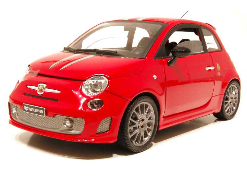 fiat 500 abarth 695 tributo ferrari mondo motors 1 18 autos miniatures tacot. Black Bedroom Furniture Sets. Home Design Ideas