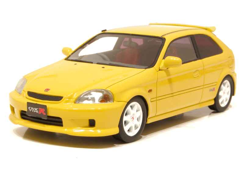 honda civic type r 1998 hi story 1 43 autos miniatures tacot. Black Bedroom Furniture Sets. Home Design Ideas