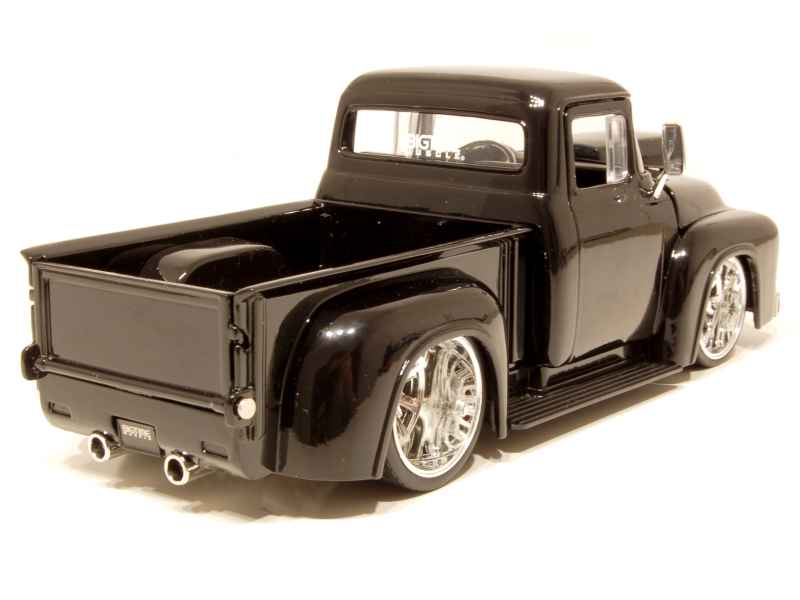 ford f 100 pick up tuning 1956 jada toys 1 24 autos miniatures tacot. Black Bedroom Furniture Sets. Home Design Ideas