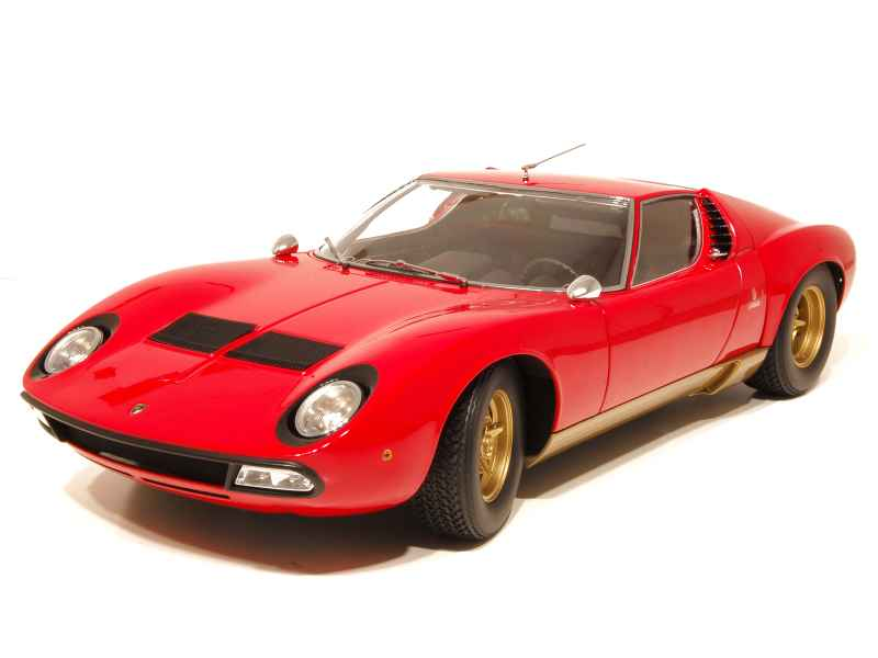 lamborghini miura p400 sv kyosho 1 12 autos miniatures tacot. Black Bedroom Furniture Sets. Home Design Ideas