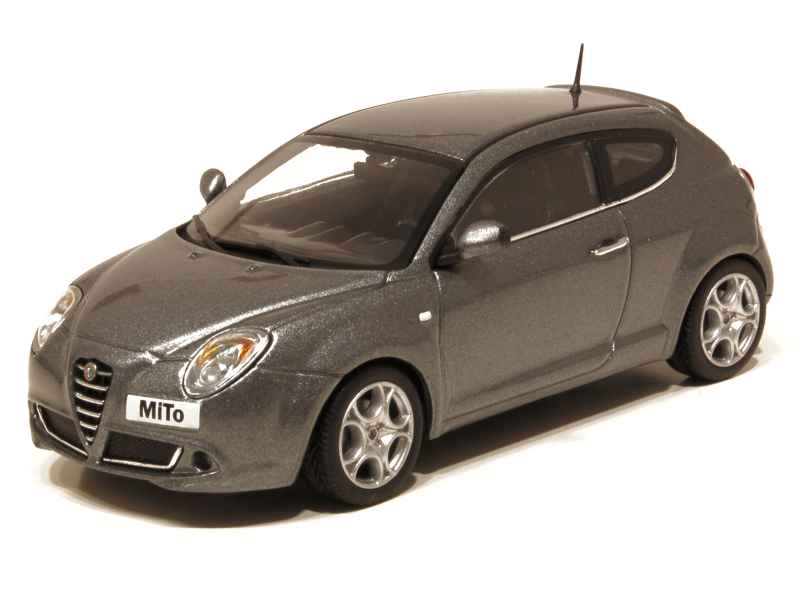alfa romeo mito 2009 minichamps 1 43 autos. Black Bedroom Furniture Sets. Home Design Ideas