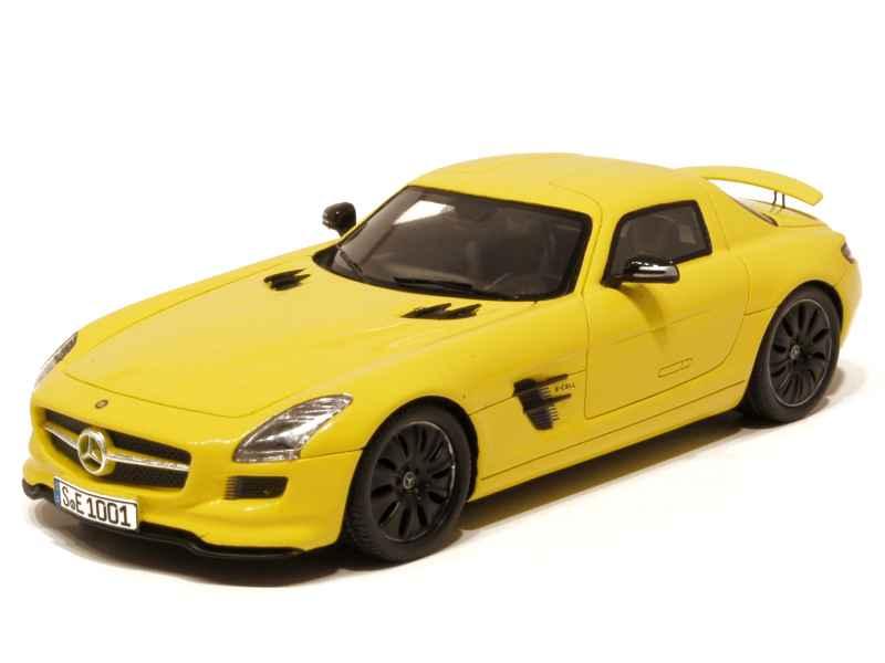 Spark Model - Mercedes SLS AMG/ E-CELL/ C197 2010 - 1/43