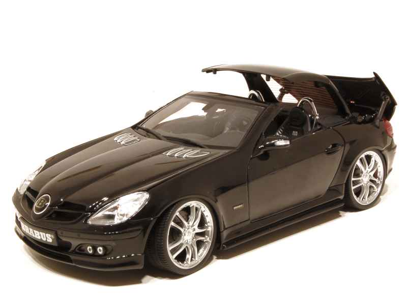 mercedes slk 55 brabus 6 1s r171 auto pro shop 1 18. Black Bedroom Furniture Sets. Home Design Ideas
