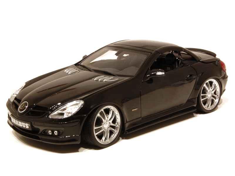 mercedes slk 55 brabus 6 1s r171 auto pro shop 1 18 autos miniatures tacot. Black Bedroom Furniture Sets. Home Design Ideas