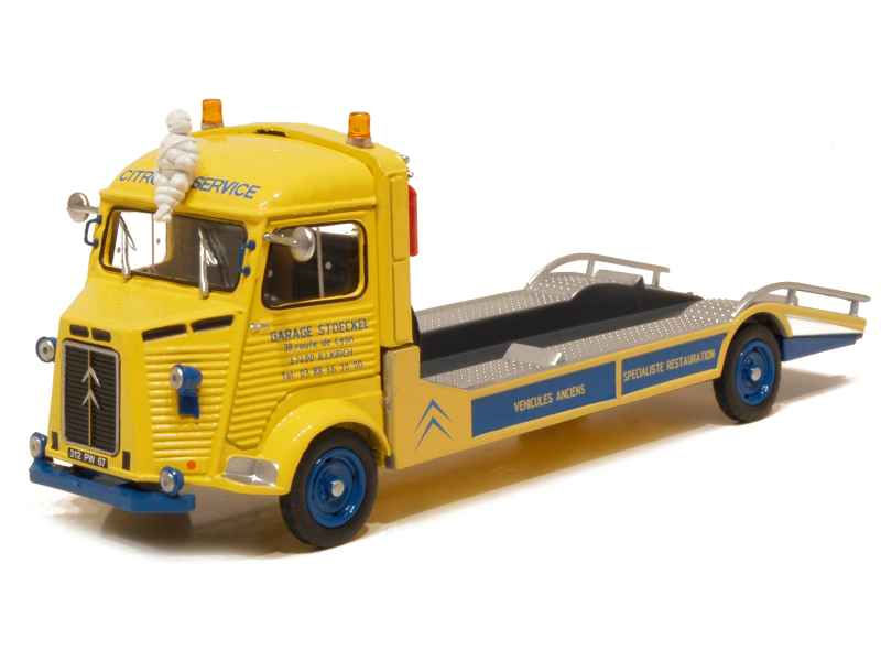Citro n hy d panneuse garage stoeckel tacot 1 43 autos miniatures tacot - Garage miniature citroen ...