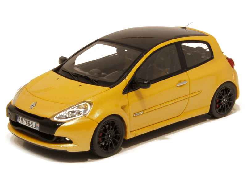 renault clio iii rs cup 2011 spark model 1 43 autos miniatures tacot. Black Bedroom Furniture Sets. Home Design Ideas