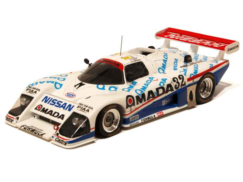 nissan r85v le mans 1985 ebbro 1 43 autos miniatures tacot. Black Bedroom Furniture Sets. Home Design Ideas