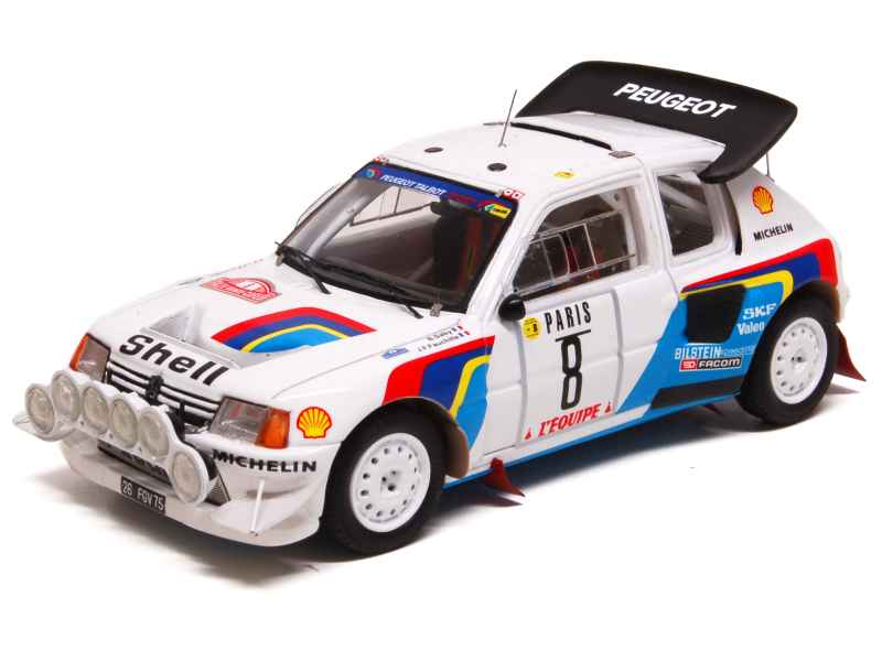 peugeot 205 t16 evo2 monte carlo 1986 spark model 1 43 autos miniatures tacot. Black Bedroom Furniture Sets. Home Design Ideas