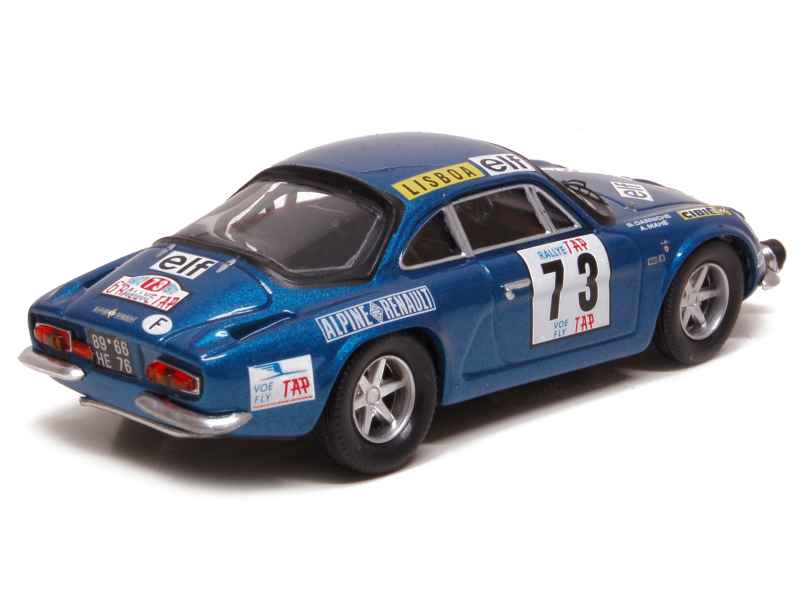 alpine a110 portugal rally 1972 trofeu 1 43 autos miniatures tacot. Black Bedroom Furniture Sets. Home Design Ideas