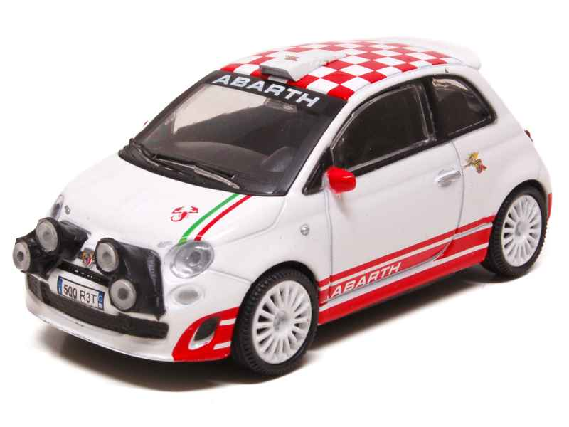 fiat 500 abarth r3t rally mondo motors 1 43 autos miniatures tacot. Black Bedroom Furniture Sets. Home Design Ideas