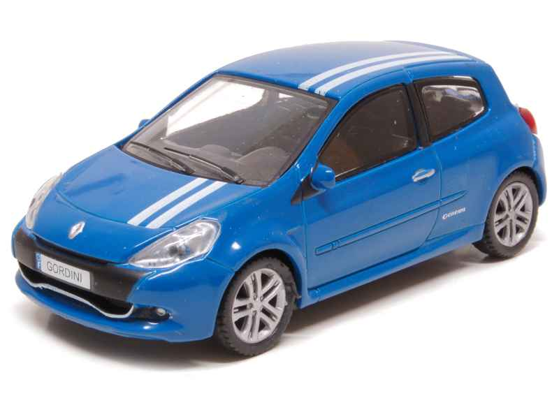 renault clio iii rs gordini 2010 mondo motors 1 43 autos miniatures tacot. Black Bedroom Furniture Sets. Home Design Ideas