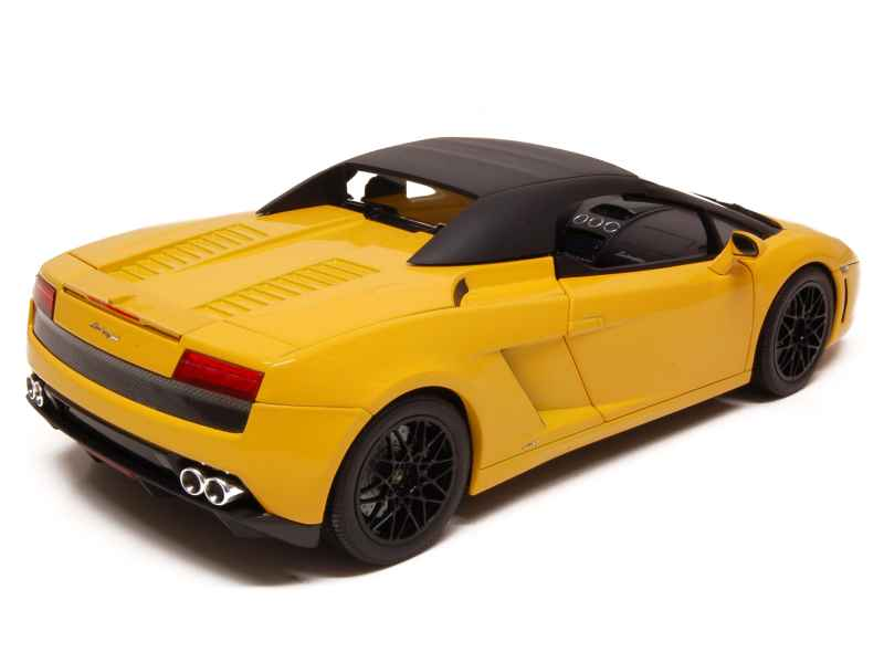 lamborghini gallardo lp 560 4 spyder 2009 norev 1 18 autos miniatures tacot. Black Bedroom Furniture Sets. Home Design Ideas