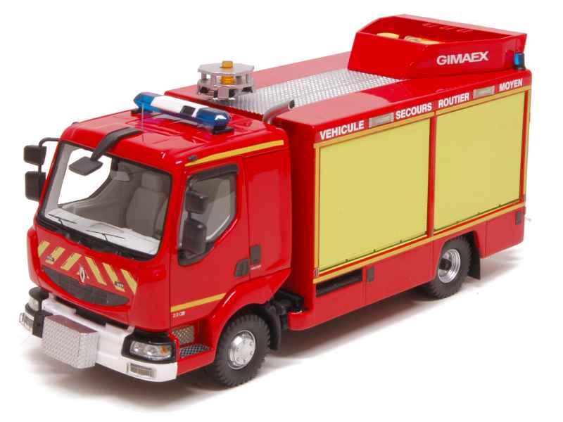 renault midlum vsr moyen gimaex pompiers alerte 1 43 autos miniatures tacot. Black Bedroom Furniture Sets. Home Design Ideas