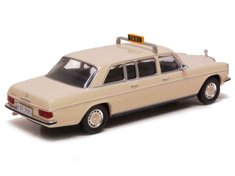mercedes 240d taxi frankfurt 1972 x press al 1 43 autos miniatures tacot. Black Bedroom Furniture Sets. Home Design Ideas