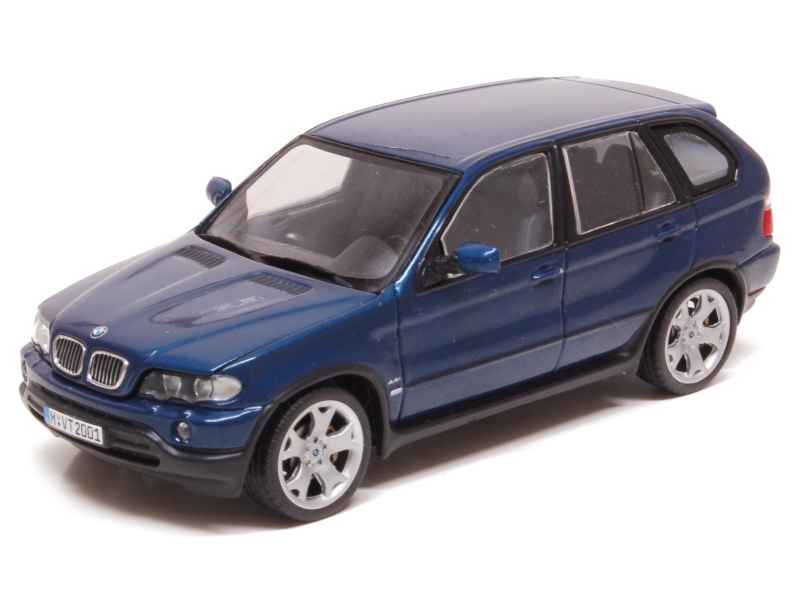 bmw x5 e53 2001 minichamps 1 43 autos miniatures tacot. Black Bedroom Furniture Sets. Home Design Ideas