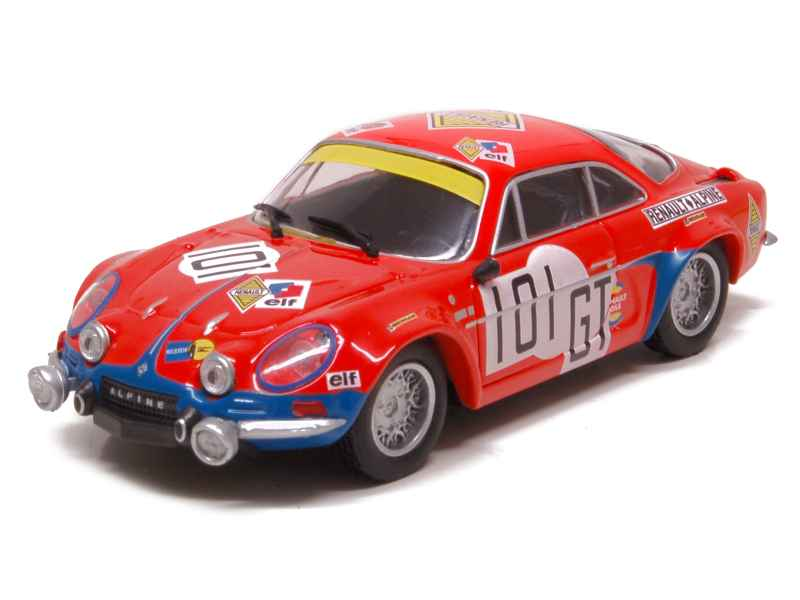alpine a110 nurburgring 1971 momaco 1 43 autos miniatures tacot. Black Bedroom Furniture Sets. Home Design Ideas