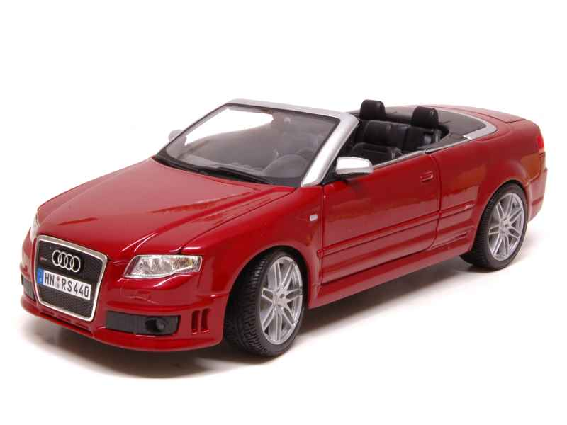audi rs4 cabriolet maisto 1 18 autos miniatures tacot. Black Bedroom Furniture Sets. Home Design Ideas