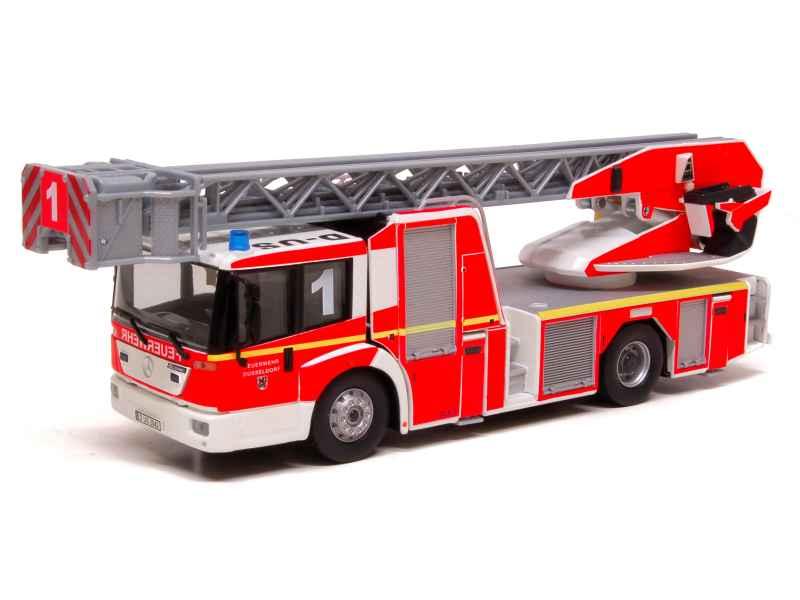 mercedes l32 echelle metz pompier wiking 1 43 autos miniatures tacot. Black Bedroom Furniture Sets. Home Design Ideas
