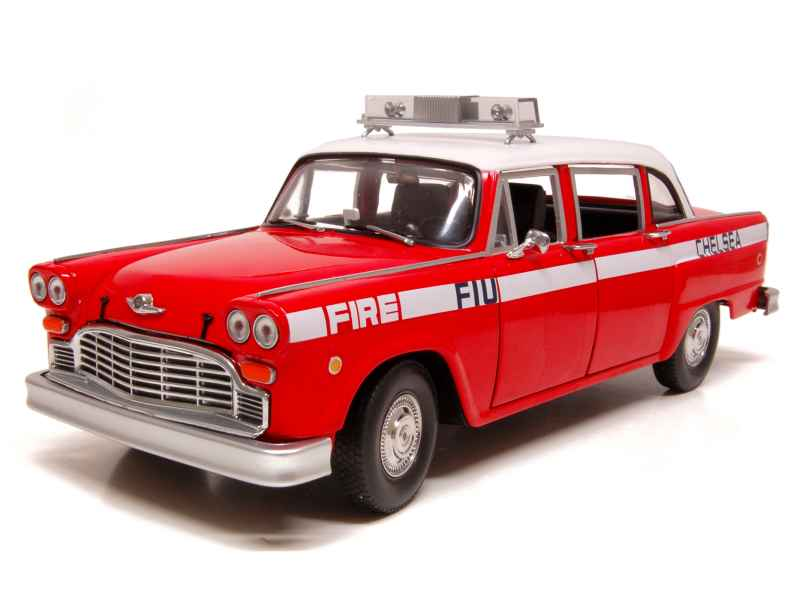 68565 Checker A11 Cab Pompiers 1963