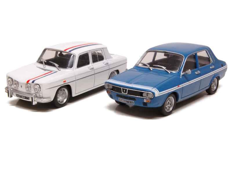 renault coffret r8 gordini r12 gordini eligor 1 43 autos miniatures tacot. Black Bedroom Furniture Sets. Home Design Ideas