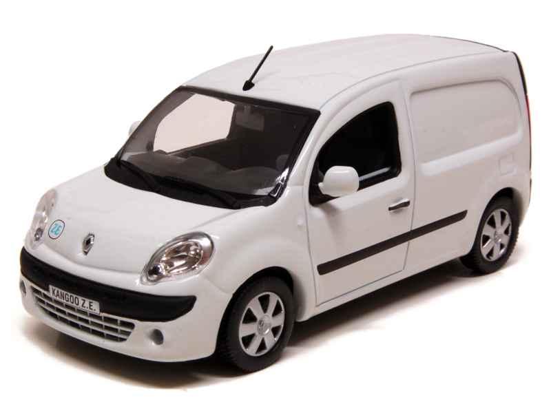 renault kangoo ii express ze electrique 2011 norev 1 43 autos miniatures tacot. Black Bedroom Furniture Sets. Home Design Ideas